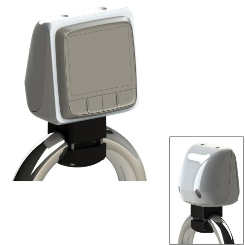 Scanpod Single Instrument Pod Rail Mount - Cut for standard instrument - Fits 1- - 1-33- Rails