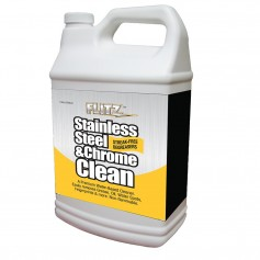 Flitz Stainless Steel - Chrome Cleaner w-Degreaser - 1 Gallon