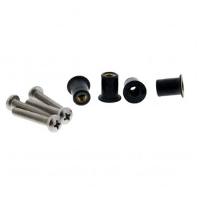 Scotty 133-16 Well Nut Mounting Kit - 16 Pack