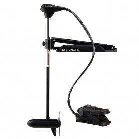 MotorGuide X3 Trolling Motor - Freshwater - Foot Control Bow Mount - 55lbs-50--12V