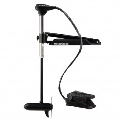 MotorGuide X3 Trolling Motor - Freshwater - Foot Control Bow Mount - 70lbs-50--24V