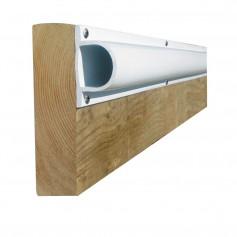 Dock Edge PRODOCK Heavy -D- Dock Profile - -3- 8- Sections - White
