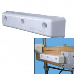 Dock Edge Protect Straight HD 12- PVC Dock Bumpers