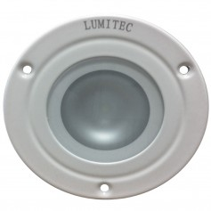 Lumitec Shadow - Flush Mount Down Light - White Finish - 3-Color Red-Blue Non-Dimming w-White Dimming