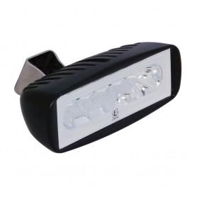 Lumitec Caprera2 - LED Flood Light - Black Finish - 2-Color White-Red Dimming