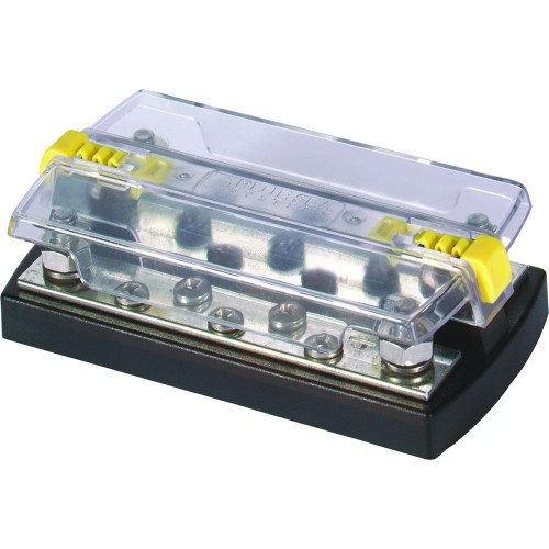 Blue Sea 2722 DualBus Plus 1-4- Stud- 5 x 10 - 32 Screw Terminal