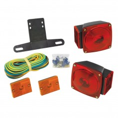 Wesbar Under 80- Combination Trailer Light Kit w-Sidemarkers