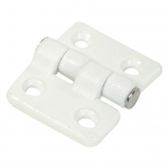 Whitecap Butt Hinge - White Nylon - 1-1-2- x 1-3-8-