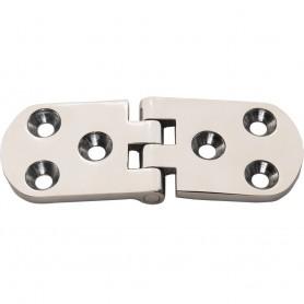 Whitecap Flush Mount Hinge - 316 Stainless Steel - 4- x 1-1-2-