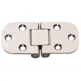 Whitecap Flush Mount 2-Pin Hinge - 304 Stainless Steel - 3- x 1-1-2-