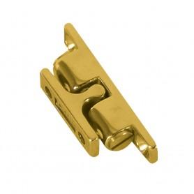 Whitecap Stud Catch - Brass - 2-1-4- x 7-16-