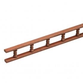 Whitecap Teak Standard Pin Rail - 5-