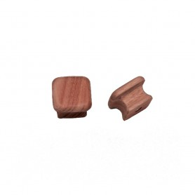 Whitecap Teak Square Drawer Knob - 1-1-8- - 2 Pack