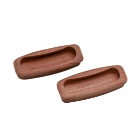 Whitecap Teak Rectangular Drawer Pull - 3-1-4-L - 2 Pack