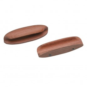 Whitecap Teak Oval Drawer Pull - 4-L - 2 Pack