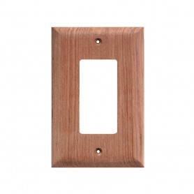 Whitecap Teak Ground Fault Outlet Cover-Receptacle Plate - 2 Pack