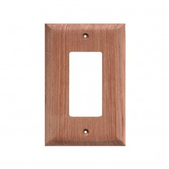 Whitecap Teak Ground Fault Outlet Cover-Receptacle Plate