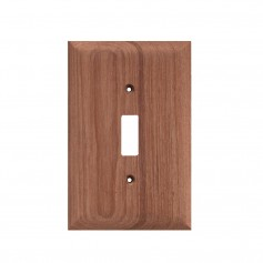 Whitecap Teak Switch Cover-Switch Plate