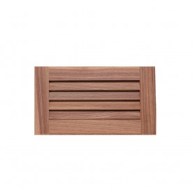Whitecap Teak Louvered Insert - 6-3-8- x 11-3-16- x 3-4-