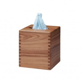 Whitecap Teak Tissue Box Holder