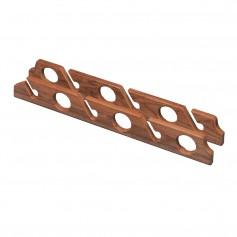 Whitecap Teak Six-Rod Storage Rack - Pair