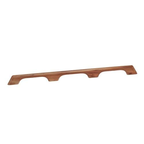 Whitecap Teak Handrail - 3 Loops - 33-L