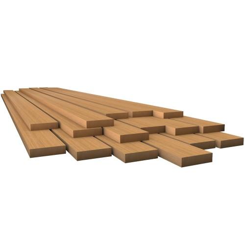 Whitecap Teak Lumber - 1-2- x 1-3-4- x 36-
